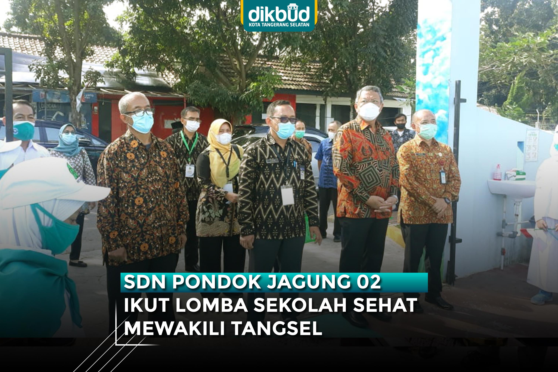 SDN Pondok Jagung 02 Ikut Lomba Sekolah Sehat Wakili Tangsel