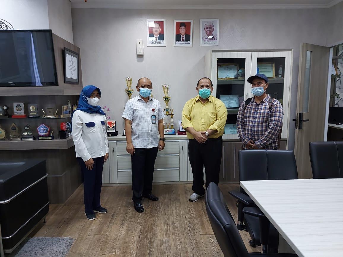 Menerima Kunjungan Bibir Jakarta terkait MOmentum Hardiknas 2021
